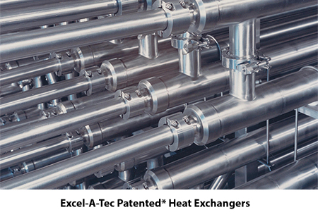 high level of heat exchange, indirect heating, coil heat exchangers, single tube in tube heat exchangers, multiple tube in tube heat exchangers, heat exchanger with smooth tubing